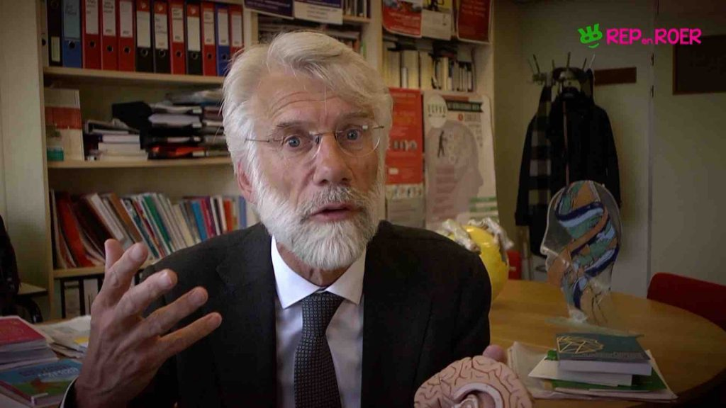 Erik Scherder: Last van plankenkoorts?