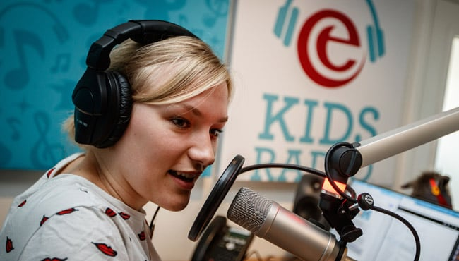 Efteling kids radio belde met Rep en Roer